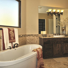 Mediterranean Bathroom by Innovative Custom Homes