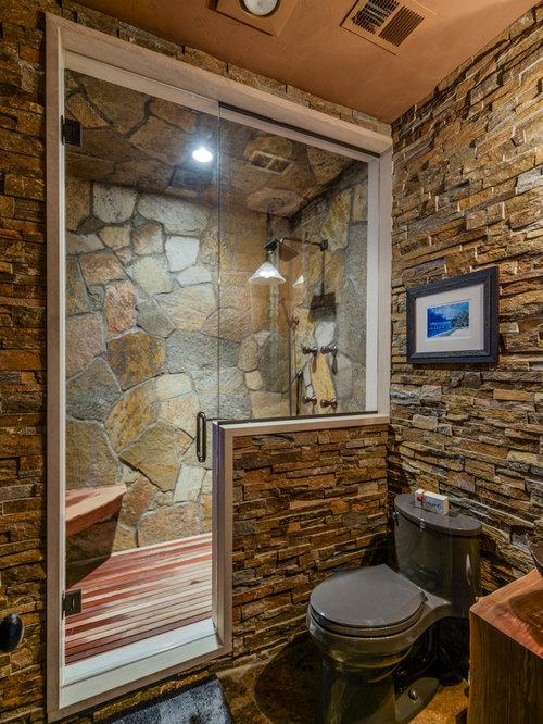 Bathroom Design Ideas, Renovations & Photos with Slate ...