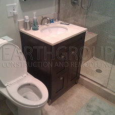 Modern Bathroom by Earthgroup Construction and Remodeling