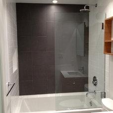 Modern Bathroom by Mike Strutt Design