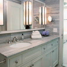 Transitional Bathroom by Adrienne Neff Design Services LLC