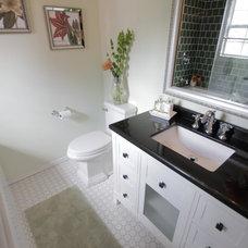 Traditional Bathroom by Tonya Hopkins Interior Design