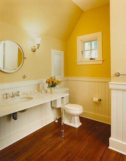 Traditional Bathroom by Sharon Portnoy Design