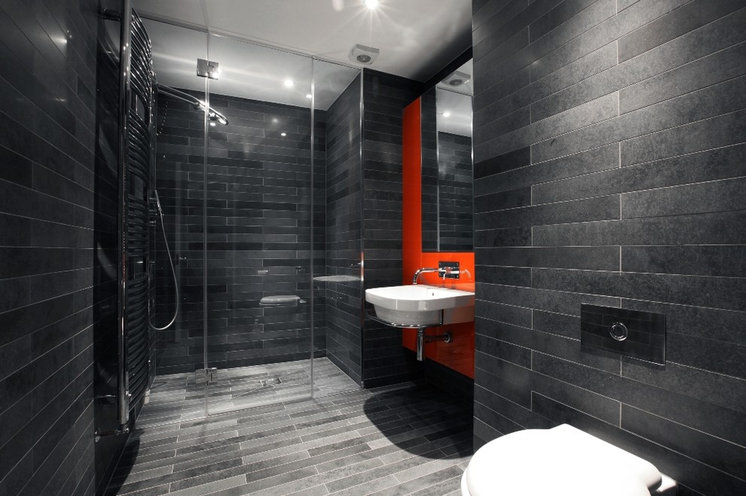 Contemporary Bathroom by Morgan Harris Architects Ltd