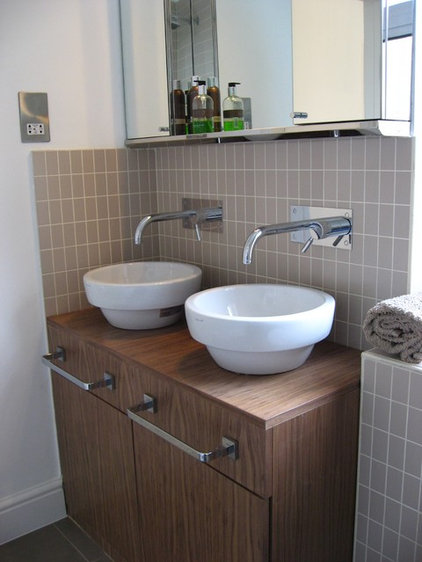 Contemporary Bathroom East Duwich Shop Conversion into a 3 bedroom home