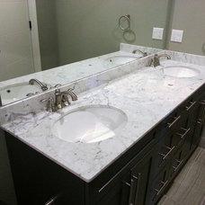 Contemporary Bathroom by Living Stone Granite