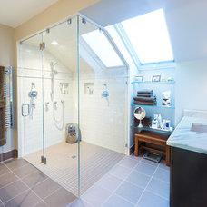 Transitional Bathroom by Modern  Yankee Builders
