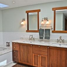 Craftsman Bathroom by Arroyo WoodWorks