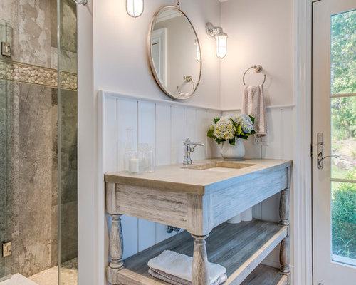 Bagno Shabby Chic Azzurro : Stanza da bagno shabby chic style foto idee arredamento