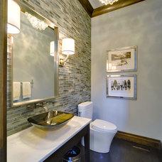 Contemporary Bathroom by Karen Bowen Interiors
