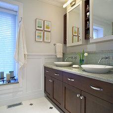 Traditional Bathroom by Kitchens & Baths, Linda Burkhardt