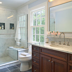 traditional bathroom by Kitchens & Baths, Linda Burkhardt