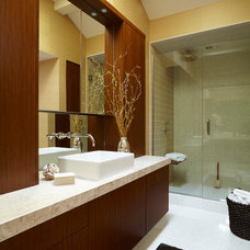 Contemporary Bathroom by Ingrained Wood Studios: The Lab