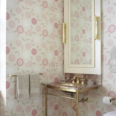 traditional bathroom by Jessica Lagrange