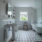 Bathroom Trinity Road Sw18 Transitional Bathroom London By Grand Design London