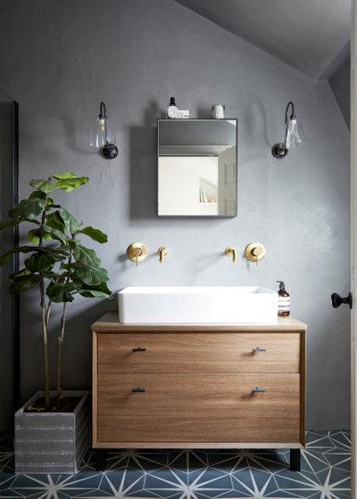 Transitional Bathroom by FIONA DUKE INTERIORS