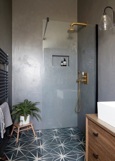 Transitional Bathroom by FIONA DUKE INTERIORS