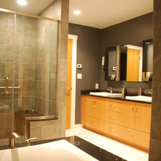 Traditional Bathroom by Nielsen & Shoemaker Architects P.C.