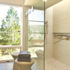 Contemporary Bathroom by HVL Interiors LLC
