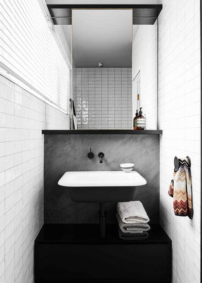Contemporary Bathroom by Flack Studio