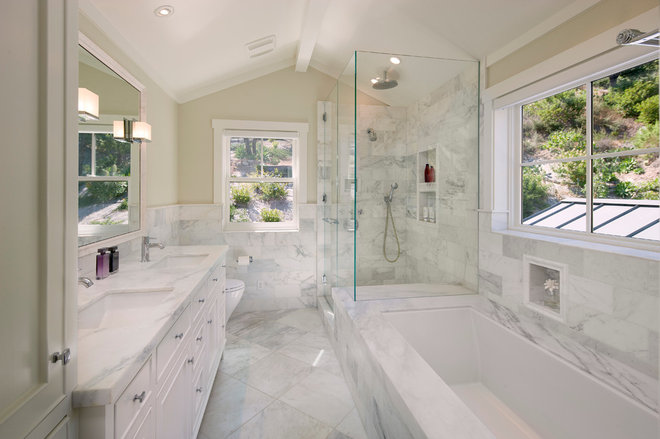 Traditional Bathroom by DD Ford Construction, Inc