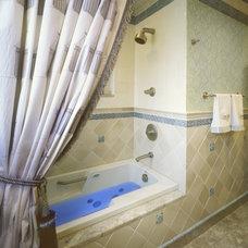 Traditional Bathroom by David Landy ASID CID NY State
