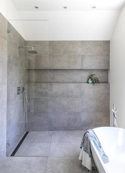Modern Bathroom by Kerry Ellis Design