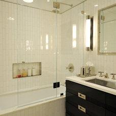 Contemporary Bathroom by Legacy Construction Northeast LLC