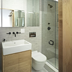 contemporary bathroom by Jordan Parnass Digital Architecture