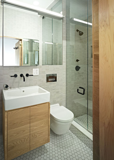 Modern Badezimmer by Jordan Parnass Digital Architecture