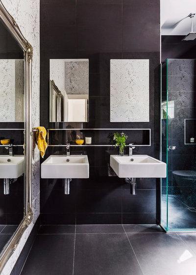 Contemporaneo Stanza da Bagno by Penman Brown Interior Design