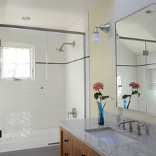 Traditional Bathroom by Emerick Architects