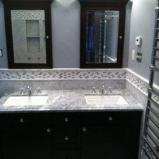 Traditional Bathroom by Spigelmyer Plumbing Inc.