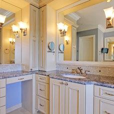 Mediterranean Bathroom by LisaLeo designs