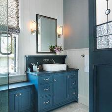 Traditional Bathroom by Taylor Interior Design