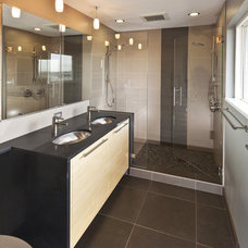 Contemporary Bathroom by Beley Design, pllc