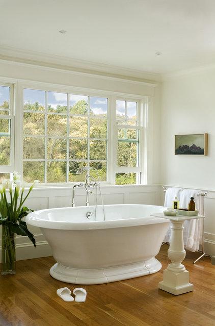 Traditional Bathroom by Aquidneck Properties