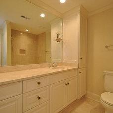 Contemporary Bathroom by PR Hughes, LLC