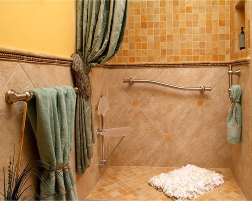 Luxury Bathroom Grab Rails decorative grab bar | houzz