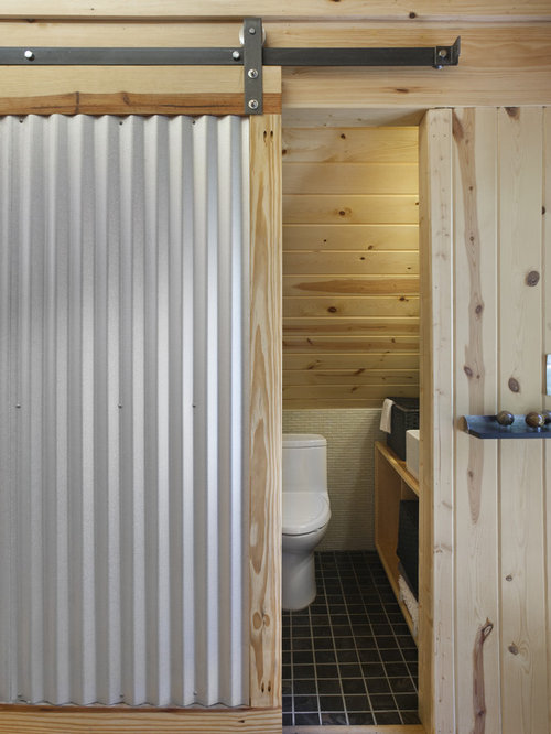 Corrugated Sliding Door Ideas Pictures Remodel And Decor