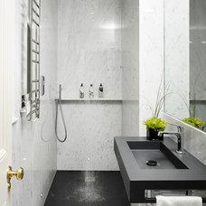 Contemporary Bathroom by The Olive Design Studio
