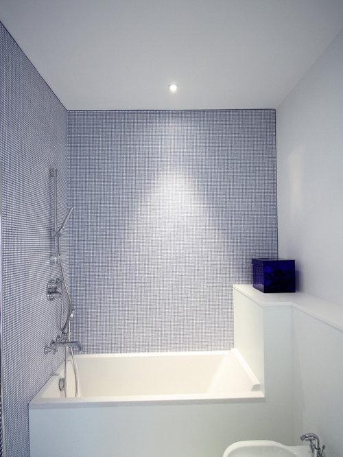 Blue and white bathroom home design ideas pictures Blue and white bathroom