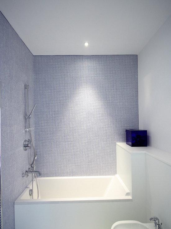 Blue And White Bathroom Houzz