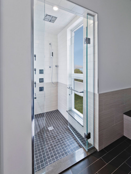 Tiling Bathroom Door Threshold tile threshold | houzz