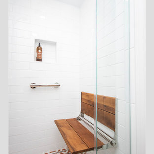 Eclectic Basement Bathroom