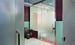 Eclectic Bath Space by New York Shower Door
