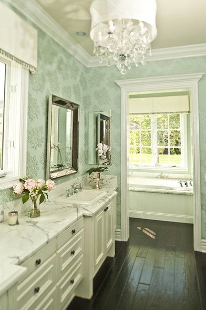 eclectic bathroom by Alexandra Rae