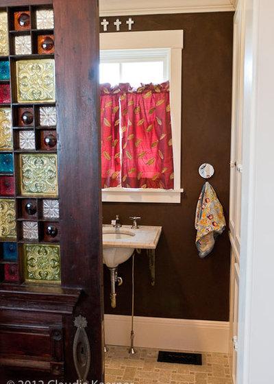 Eclectic Bathroom Eclectic Bathroom