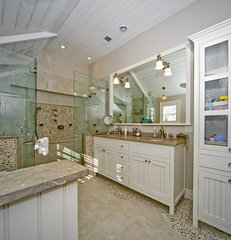 eclectic bathroom by ARCHIA HOMES