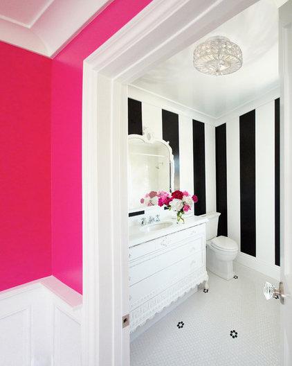 Eclectic Bathroom by Courtney Blanton Interiors